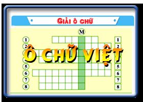 Ô chữ  Việt